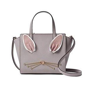 Kate spade bunny hayden satchel mini crossbody bag